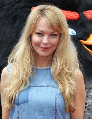 Charlotte Ross Angry Birds Movie Premiere Westwood