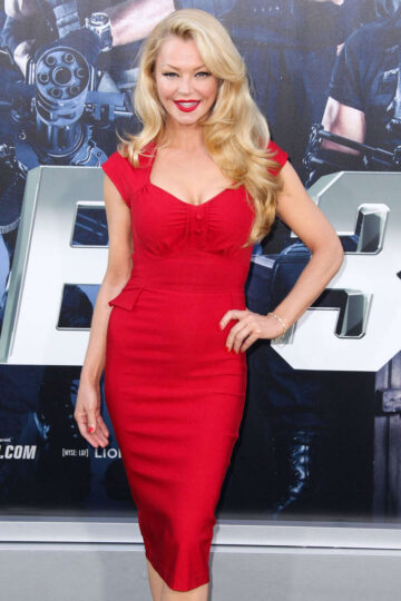Charlotte Ross Expendables 3 Premiere Hollywood