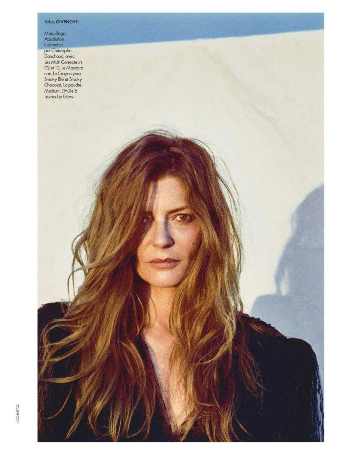 Chiara Mastroianni Elle Magazine France August