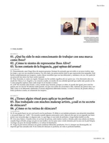 Chloe Bennet Elle Magazine Mexico September