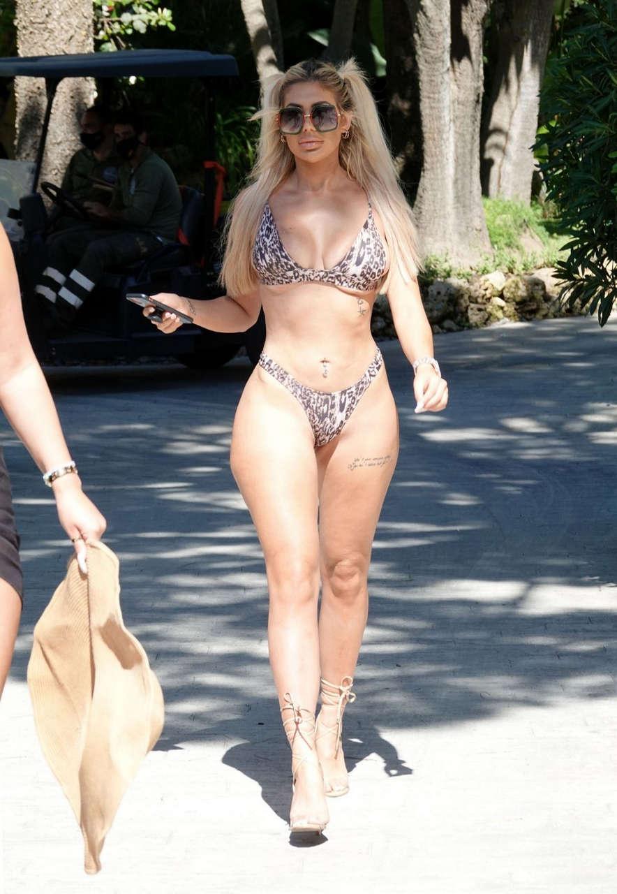 Chloe Ferry Bethan Kershaw Bikinis Marbella