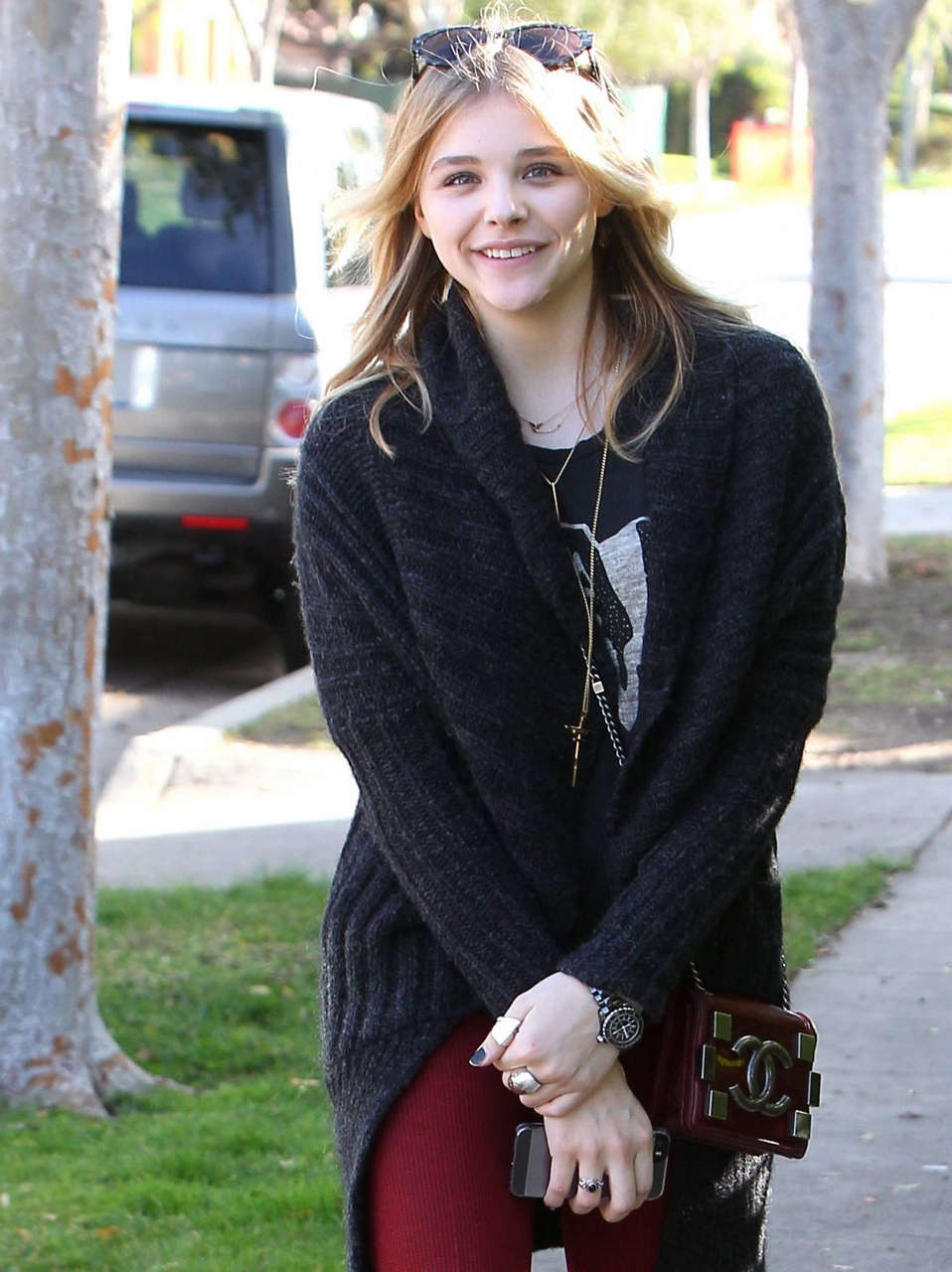 Chloe Moretz Out About Los Angeles