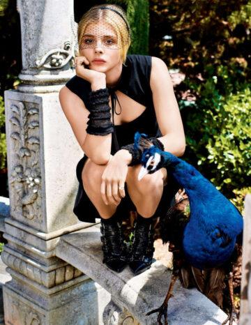 Chloe Moretz Teen Vogue Magazine October 2014 Issue