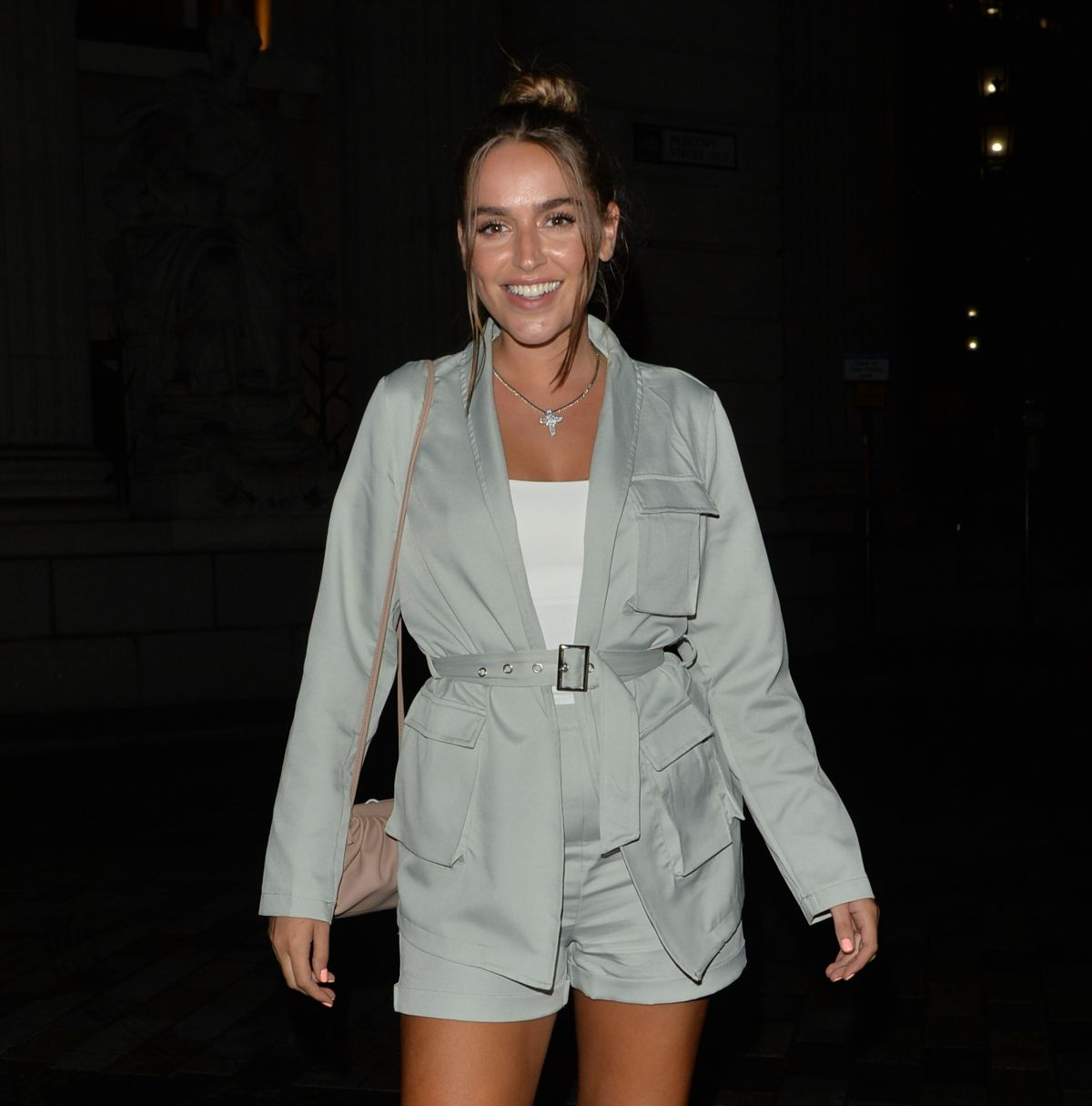 Chloe Ross Leaves Coppa Bar London