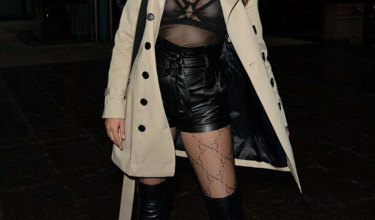 Chloe Ross Leaves Roka London (10 photos)