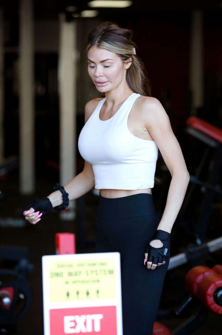 Chloe Sims Ab Salute Gym Brentwood