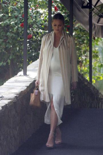 Chrissy Teigen Bel Air Hotel Beverly Hills