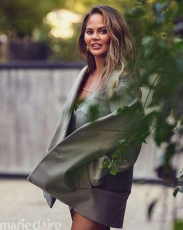 Chrissy Teigen For Marie Claire Magazine September