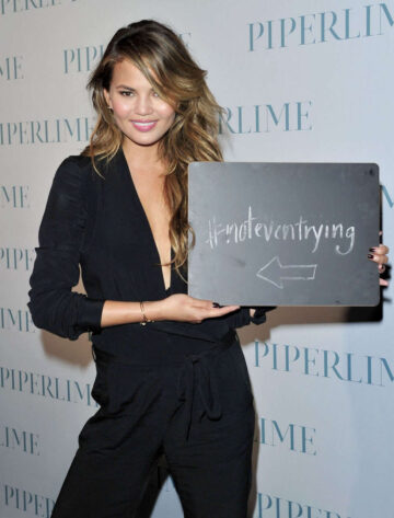Chrissy Teigen New Piperlime Collection Launch Los Angeles
