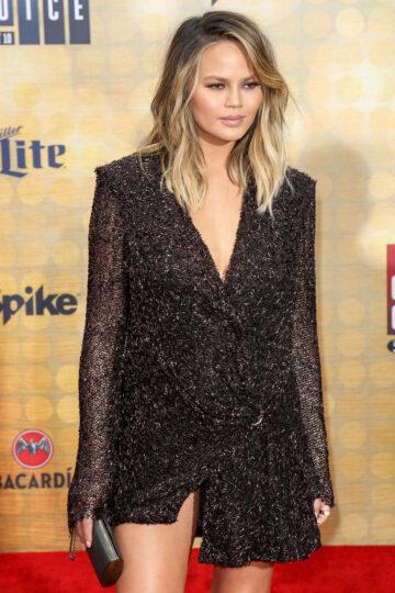Chrissy Teigen Spike Tvs Guys Choice 2016 Awards Culver City