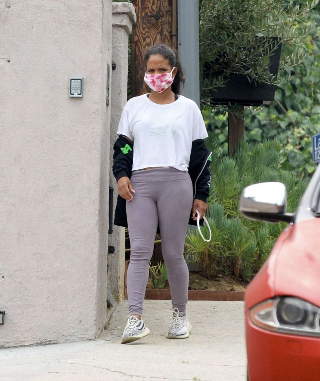 Christina Milian Out About Los Angeles