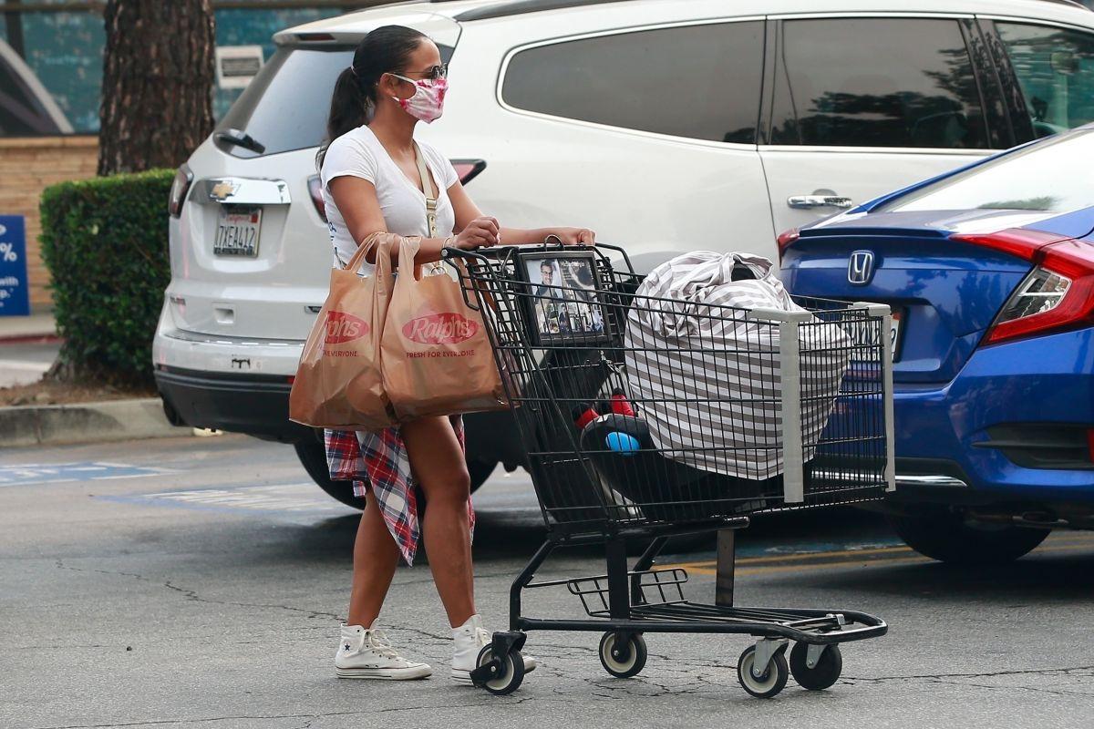 Christina Milian Out Shopping Studio City