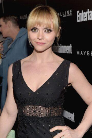 Christina Ricci Ew Celebration Honoring Screen Actors Guild Awards Nominees Los Angeles