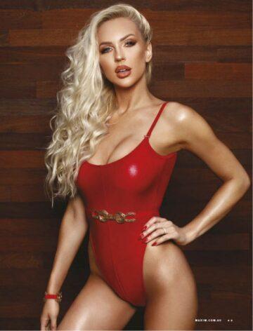 Christine Quinn Maxim Magazine Australia October