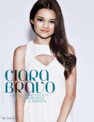 Ciara Bravo Glamoholic Magazine Fall Edition