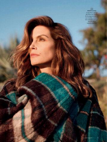 Cindy Crawford Vanity Fair Magazine Spain September