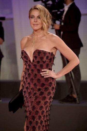 Claudia Gerini Flming Italy Best Movie Award 77th Venice Film Festival