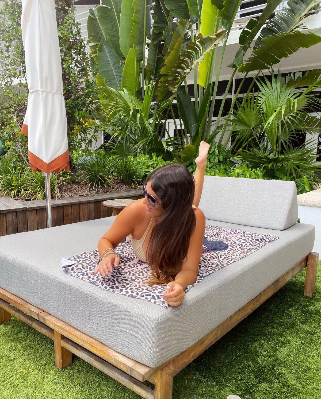 Claudia Romani Bikini Ritz Carlton Miami Beach