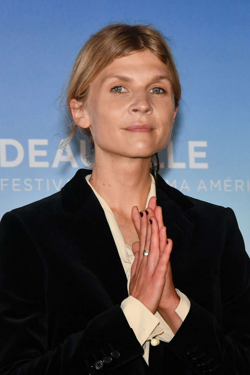Clemence Poesy Resistance Photocall 2020 Deauville American Film Festival