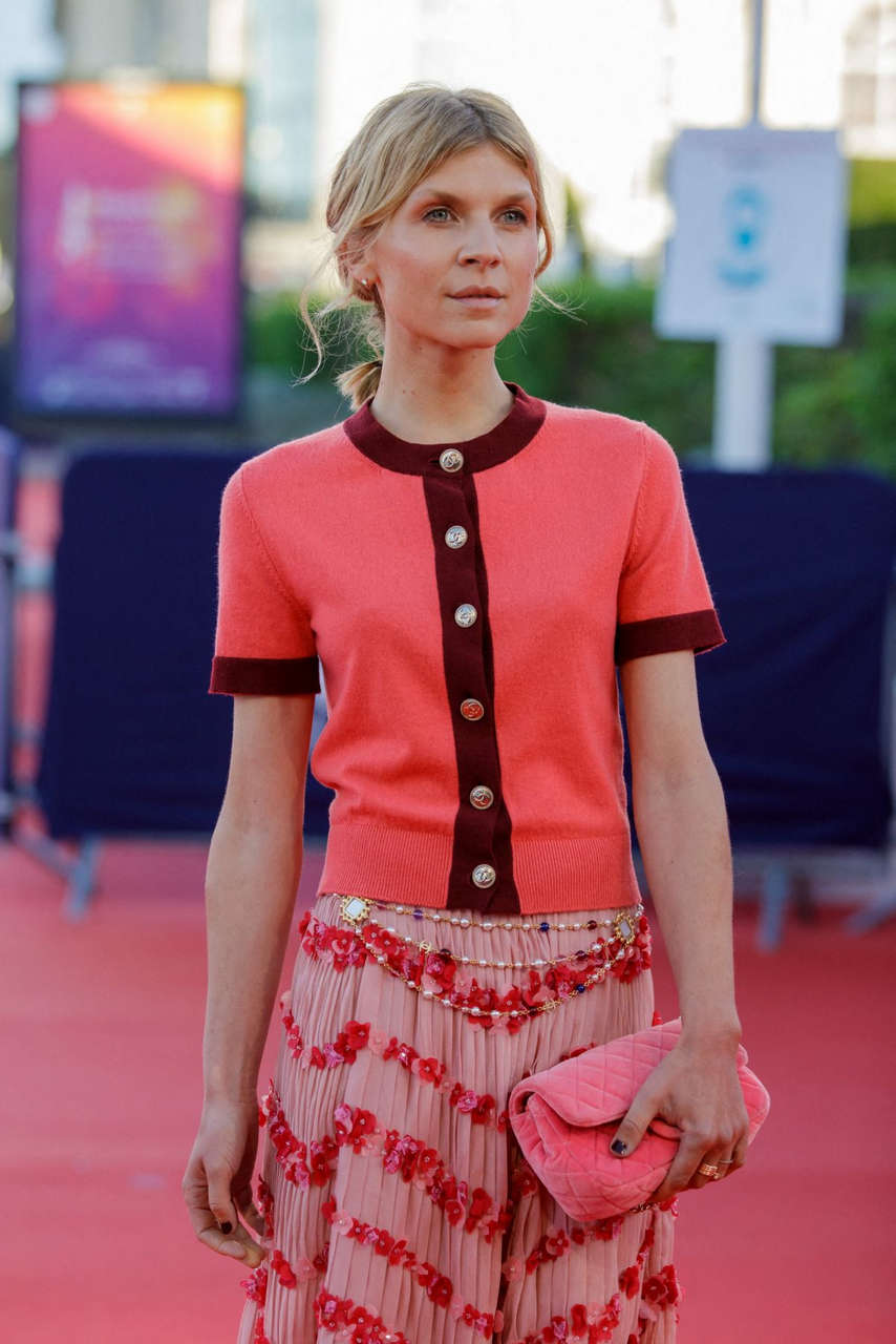 Clemence Poesy Resistance Premiere 46th Deauville American Film Festival