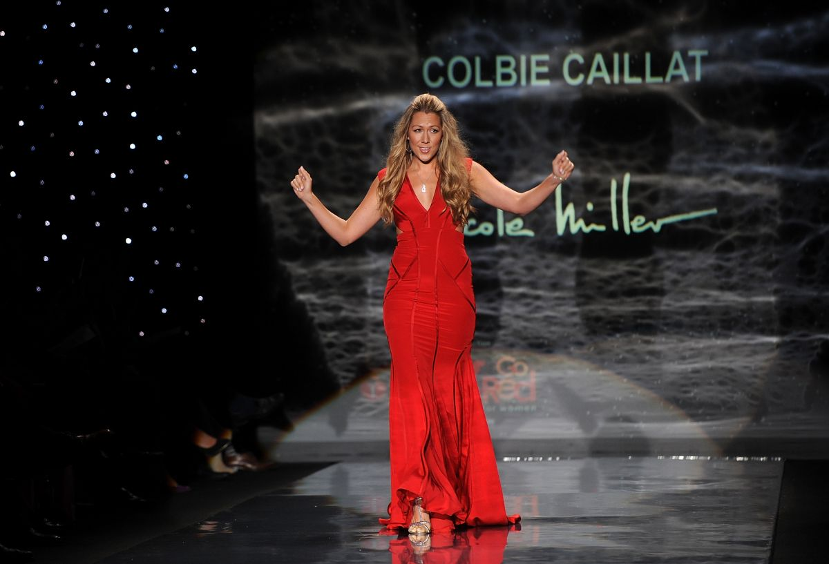Colbie Caillat Go Red Women Heart Truth Fashion Show New York