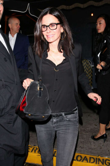 Courtney Cox Reese Witherspoons 40th Birthday Party Warwick Nightclub