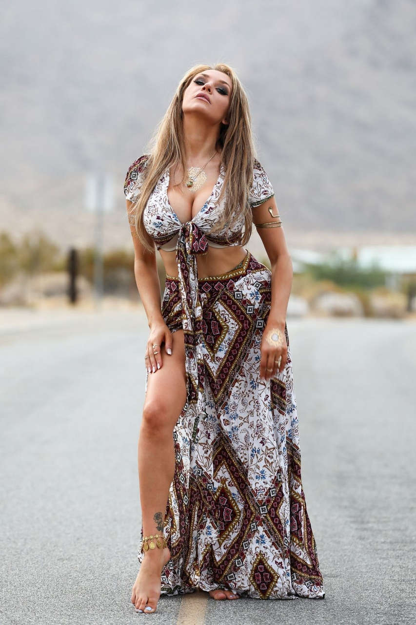 Courtney Stodden Celebrates Her Birthday Palm Springs