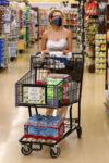 Courtney Stodden Shopping Albertsons Palm Springs