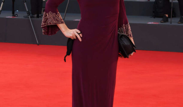 Cristina Parovel 77th Venice Film Festival Opening Ceremony (4 photos)