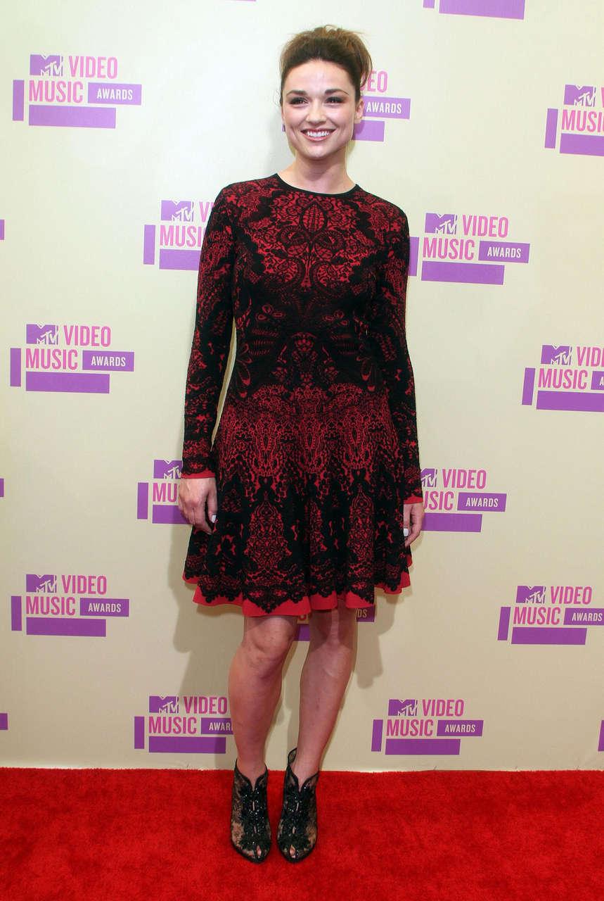 Crystal Reed 2012 Mtv Video Music Awards Los Angeles