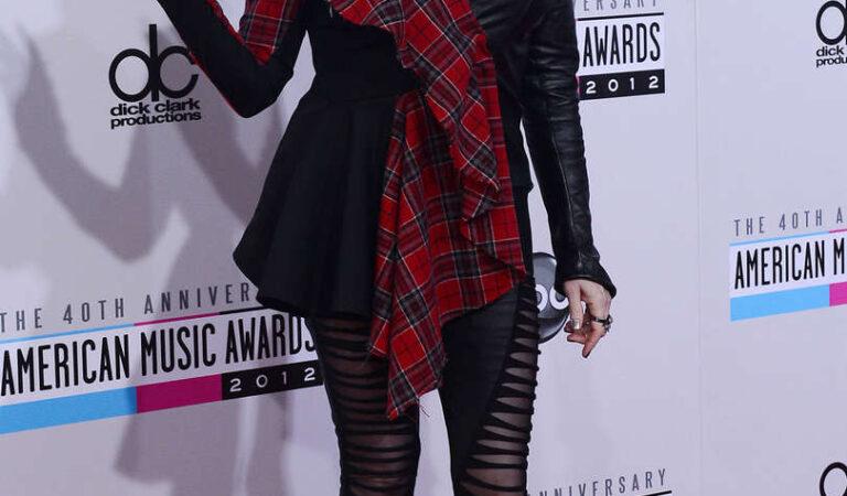 Cyndi Lauper 40th Anniversary American Music Awards Los Angeles (2 photos)