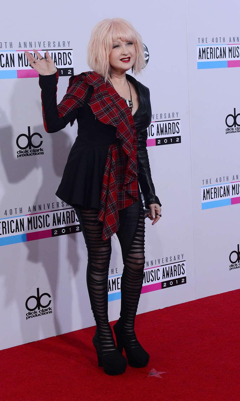 Cyndi Lauper 40th Anniversary American Music Awards Los Angeles