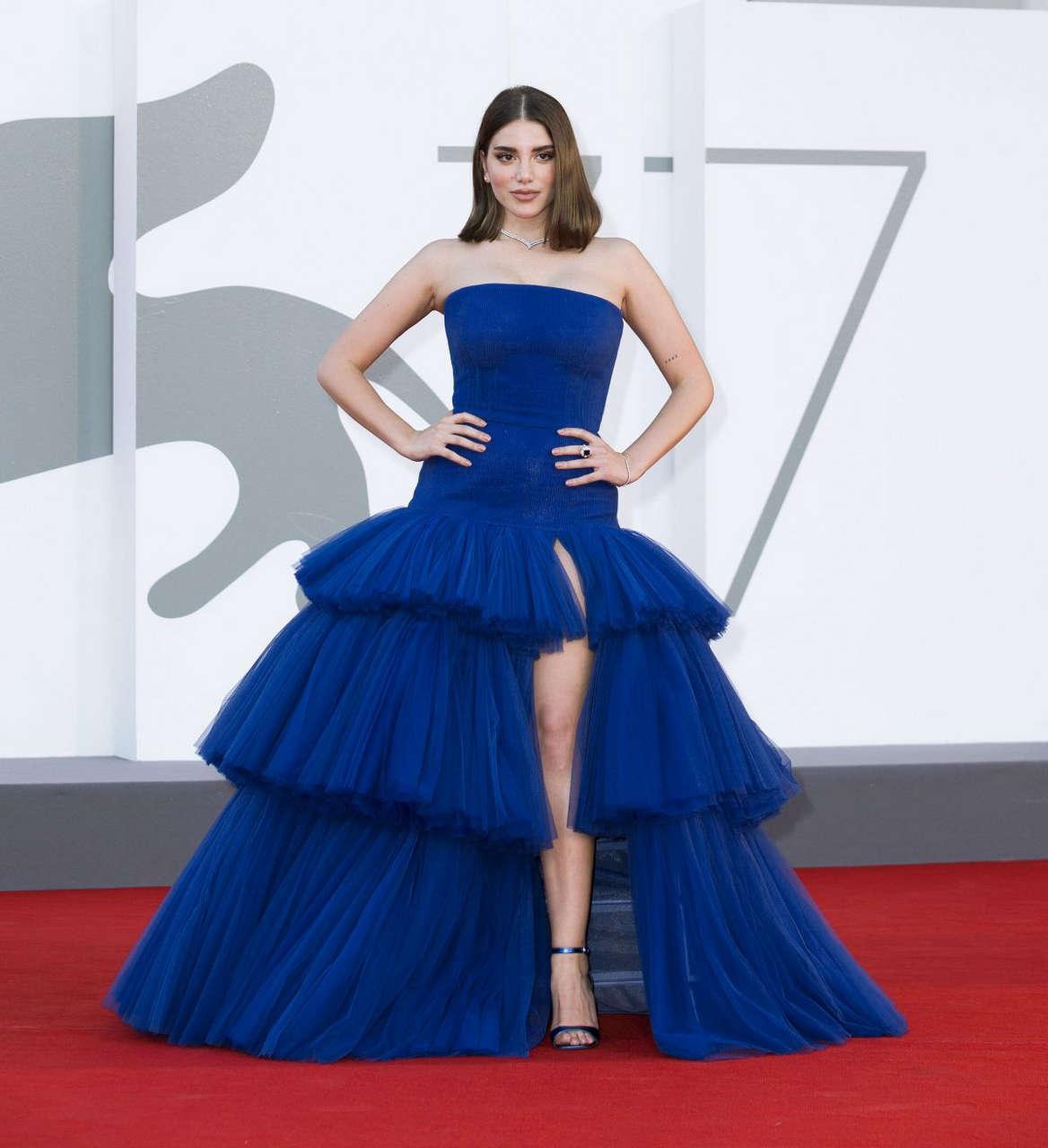 Cynthia Samuel Nomadland Premiere 77th Venice Film Festival