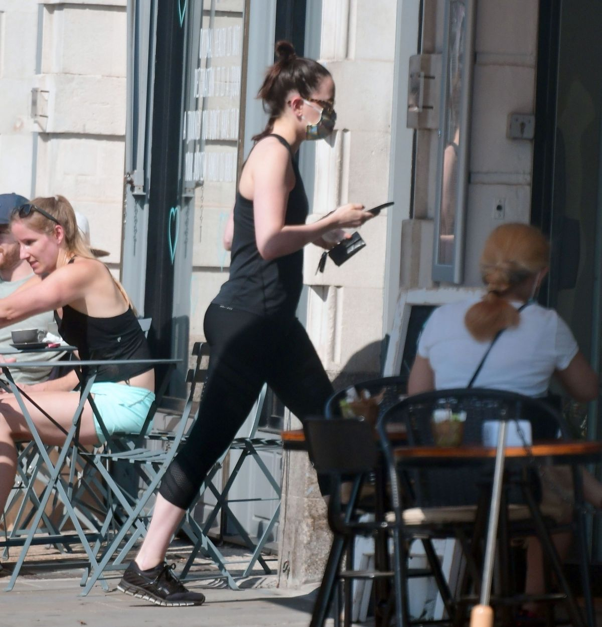 Daisy Ridley Out About Notting Hill