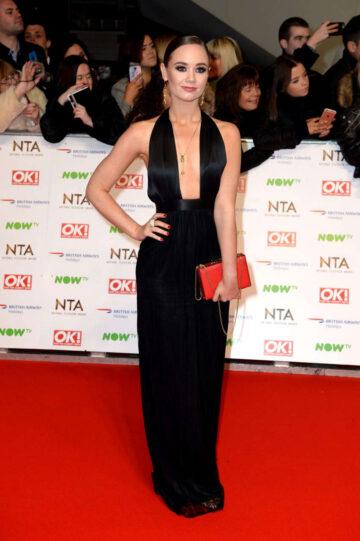 Daisy Wood Davis 2016 National Television Awards London