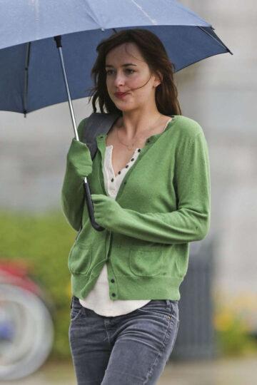 Dakota Johnson Set Fifty Shades Gray Vancouver