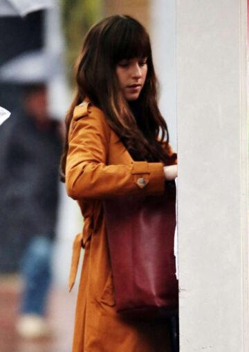 Dakota Johnson Set Of Fifty Shades Darker Vancouver