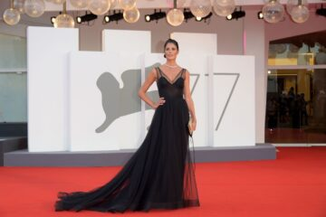 Daniela Ferolla Padrenostro Premiere 2020 Venice Film Festival