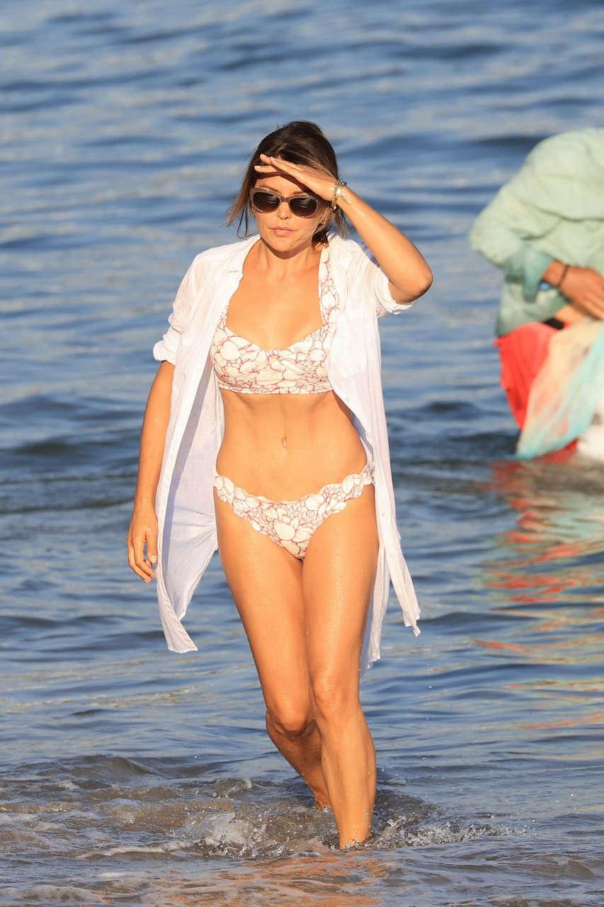 Danielle Bux Bikini Beach Malibu