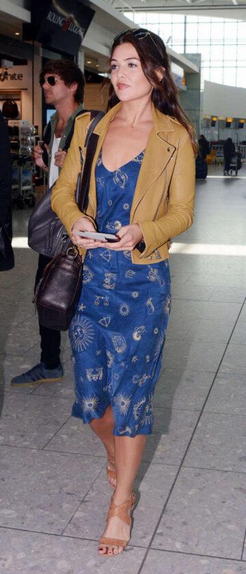 Danielle Campbell Heathrow Airport London