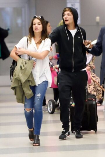 Danielle Campbell Louis Tomlinson Airport New York