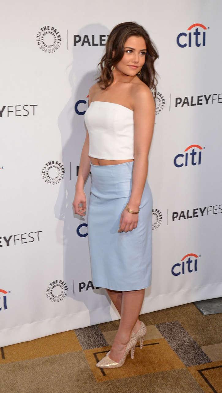 Danielle Campbell Paleyfest An Evening Originals Beverly Hills