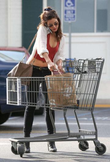 Danielle Campbell Shopping Malibu