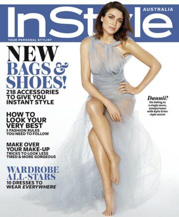 Danii Minogue Instyle Magazine Australia October 2014 Issue