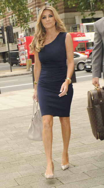 Dawn Ward Arrives Marlybone Magistrates Court