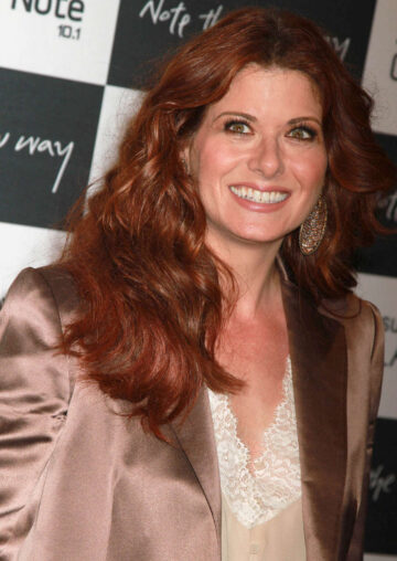 Debra Messing Samsung Galaxy Note 10 1 Launch Party New York