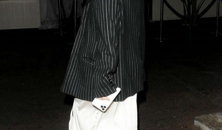 Delilah Hamlin Arrives Delilah West Hollywood (5 photos)