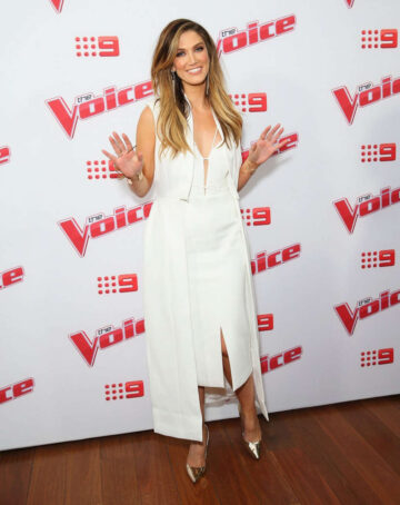 Delta Goodrem Voice Australia 2016 Live Show Launch Sydney