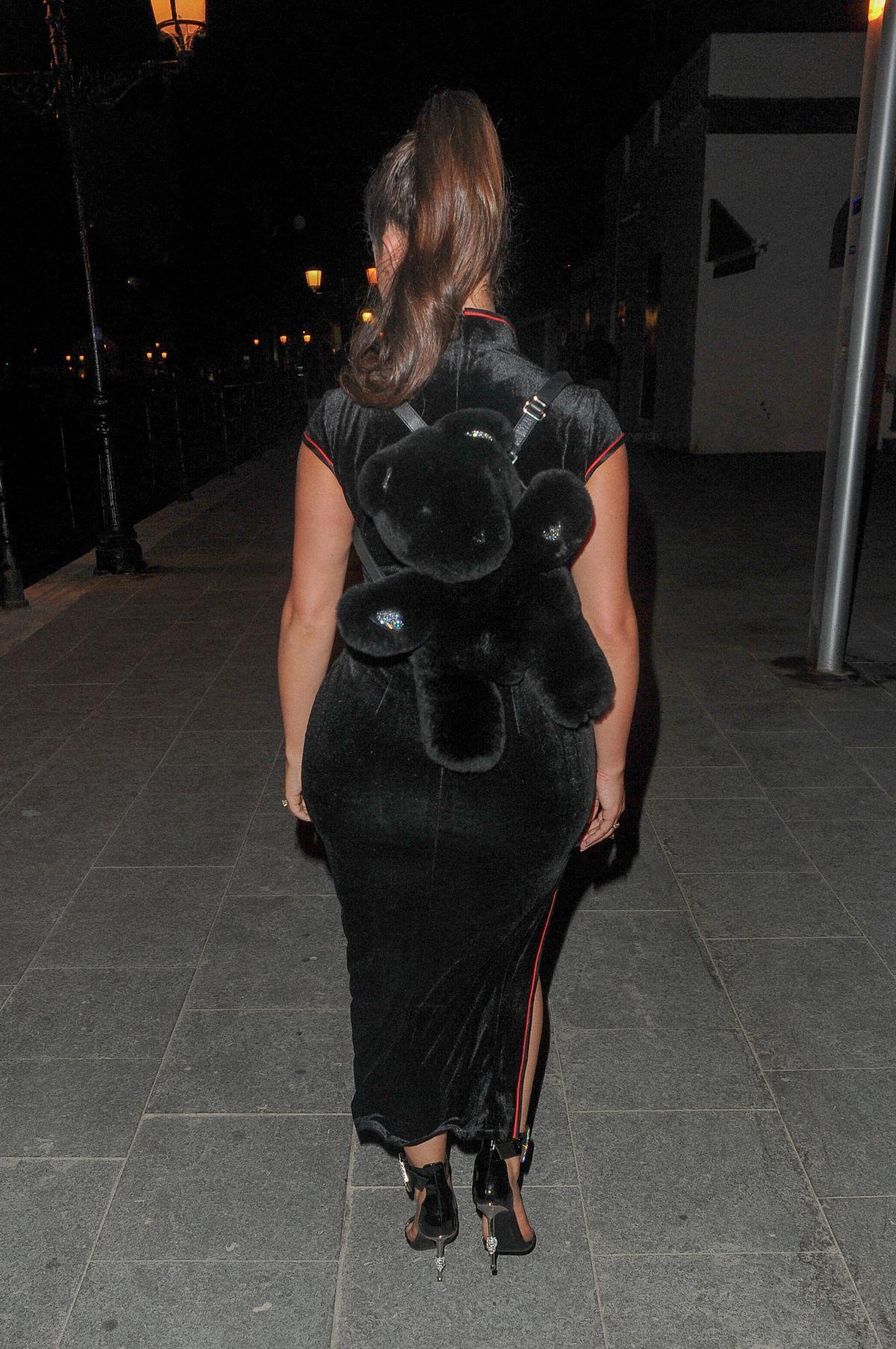 Demi Rose Mawby Arrives W Hotel Opening Night Ibiza