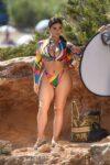 Demi Rose Mawby Bikini Photoshoot Beach Spain